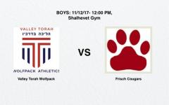 WATCH LIVE BOYS CHAMPIONSHIP: Valley Torah vs Frisch