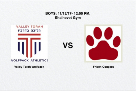 Boys: Valley Torah High School vs. Elitzur