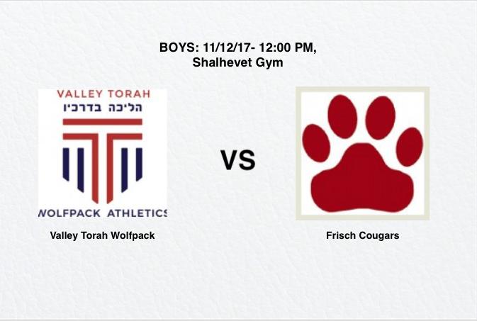 WATCH+LIVE+BOYS+CHAMPIONSHIP%3A+Valley+Torah+vs+Frisch