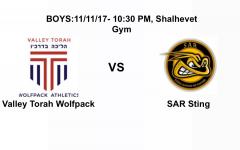WATCH LIVE: Boys Valley Torah vs. SAR