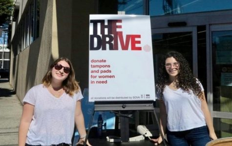Student campaign gathers 4,078 pads and tampons for the poor