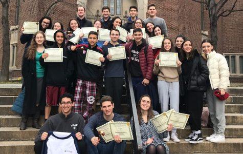 Firehawk debaters win 18 awards at Penn Model Congress