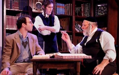 Rabbi Bouskila's journey comes together on stage in 'The Chosen.'