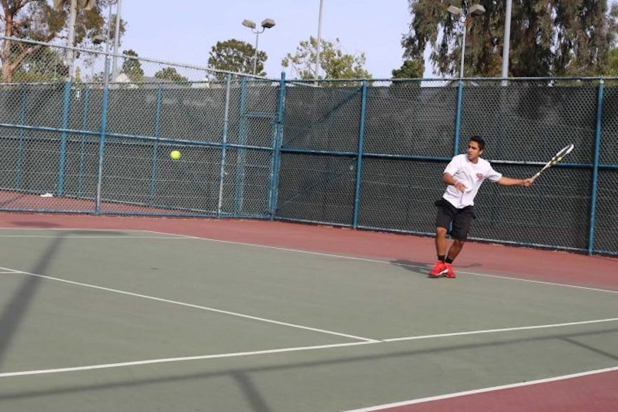 TENNIS: Senior Arman Marghzar has played in multiple tennis matches during his time at Shalhevet but none were scheduled for this year's team.