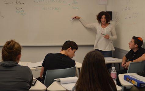 Math teacher Ellen Greenman will not return next year
