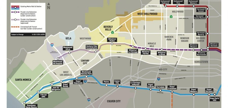Purple Line will help commuters to Shalhevet -- in 2023