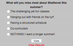POLL: What will you miss most about Shalhevet this summer?