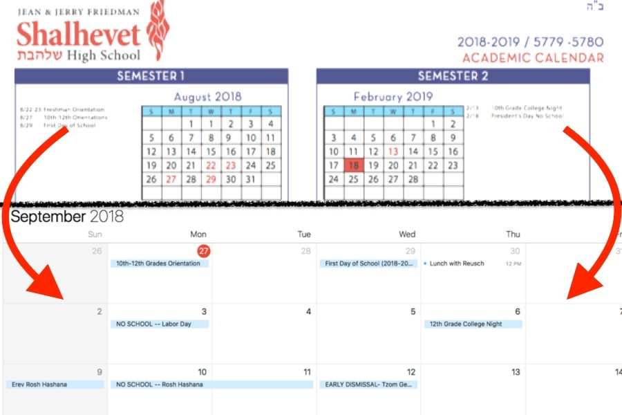 VIDEO TUTORIAL: How to import the school calendar into your personal calendar