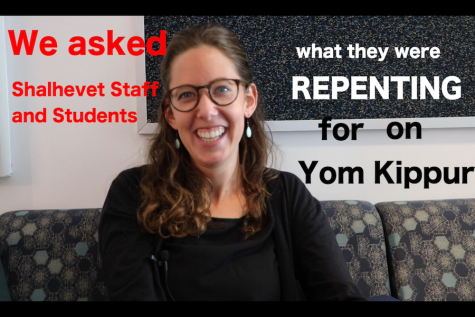 YOM KIPPUR VIDEO: Shalhevet's Repenters