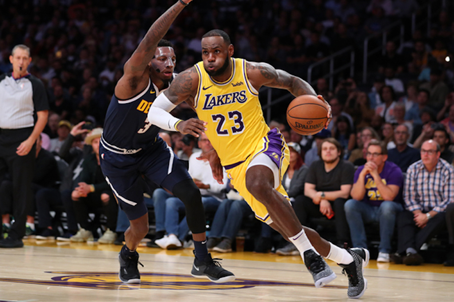 """FANS:    The Lakers have not had a big star since Kobe Bryant retired in 2016. """"In my perspective, it will restore the credibility and legitimacy of the Lakers,"""" said junior and Firehawk girls basketball star Kiku Shaw.  (Ty Nowell/Los Angeles Lakers)"""