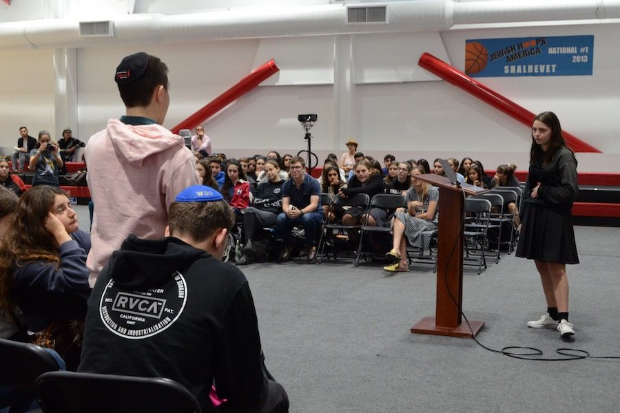 TALK: Student speakers at Town Hall Oct. 17 favored Justice Kavanaughs confirmation by a margin of two to one.