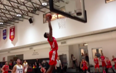 Jacob Benezra dunk at Glouberman Tournament 2018