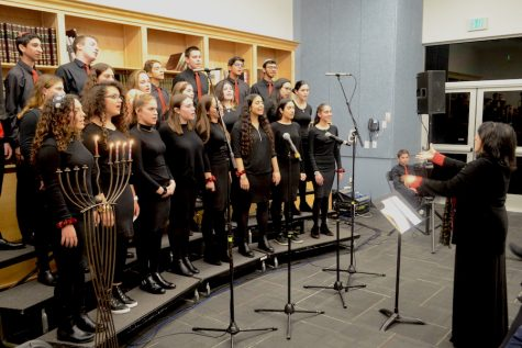 Concert breaks new ground for Choirhawks with music written or arranged by students