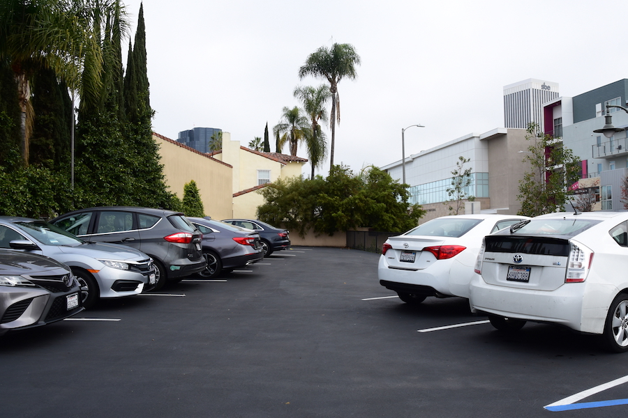 FULL:   At the end of December break, nine spots in the redone student lot that did not belong to seniors were assigned to juniors, who moved in Jan. 2.
