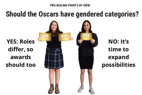 TWO BOILING POINTS OF VIEW: Should the Oscars have gendered categories?