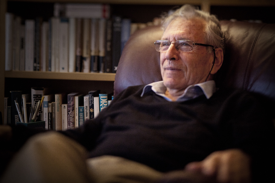 INFLUENCE:   Oz's 40 books, including his memoir A Tale of Love and Darkness, have been translated into 45 languages, the most among any Israeli author.   BP Photo by Uzi Varon from amoz-oz.net