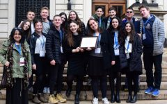 CSPA:   At Columbia University in NYC this afternoon, staff of this year's Boiling Point was awarded its seventh consecutive CSPA Hybrid Crown Award, this time a Silver Crown, for print and online news published during the 2017-18 school year.