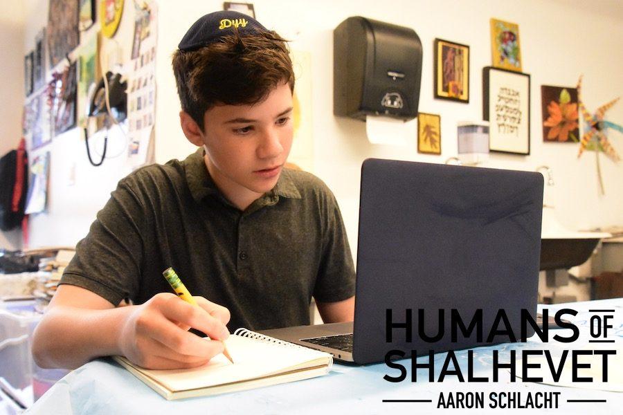 Humans of Shalhevet – Aaron Schlacht
