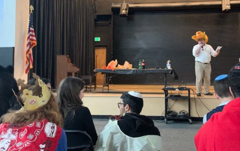 Purim talent show brought community together with costumes, nerves and cheers