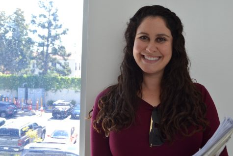 Ms. Segal is first female teacher to get Jewish title at school