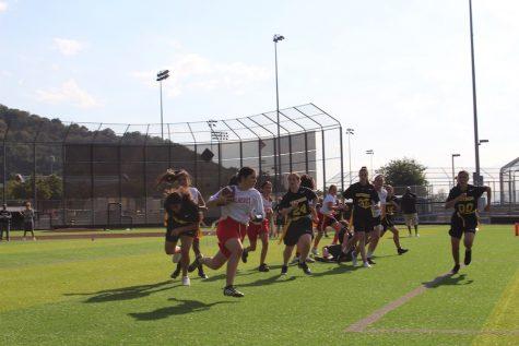Hiller fills the scorecard as Firehawk girls dominate Panthers in flag football