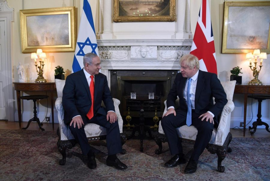 PARTNERSHIP%3A+UK+Prime+Minister+Boris+Johnson%2C+right%2C+met+with+Israeli+Prime+Minister+Benjamin+Netanyahu+at+10+Downing+Street%2C+the+residence+of+the+British+prime+minister%2C+earlier+this+year.+The+two+countries+signed+a+trade+agreement+in+February+in+case+Brexit+occurs.