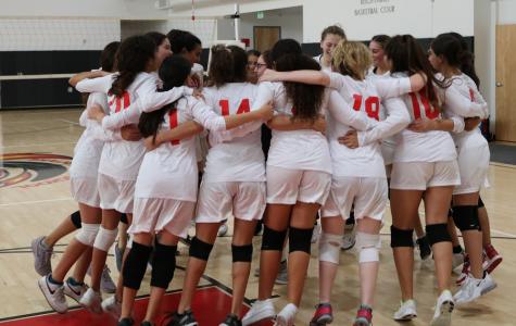 Team spirit bumps girls volleyball team to new heights