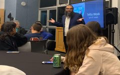 At a parent-teen learning session on Oct. 29, Rav Judah taught about the meaning of tefillah (prayer) and how to incorporate it into their day-to-day lives.