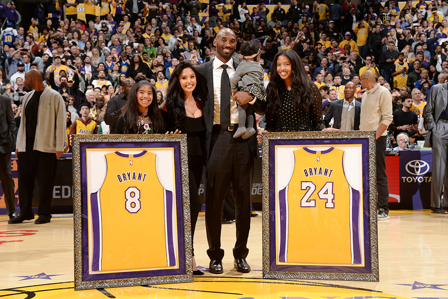 2017%3A+Bryant+and+his+wife+Vanessa%2C+and+daughters+Natalia%2C+Gianna+and+Bianka+smiled+as+his+two+numbers+--+8+and+24+--+were+retired+at+Staples+Center