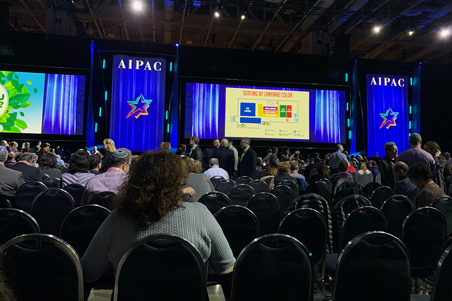 CROWD: According AIPAC's website, more than 18,000 people, including 51 Shalhevet students, attended AIPAC's annual policy conference in Washington, D.C., last week. Also there were some who had been in contact with a coronavirus patient in New York, and who were quarantined on their return.
