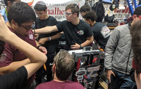 Shalhevet's robot 'Chaya Leia' advances to national championship in Houston, but coronavirus cancels the event