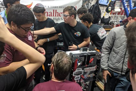 Shalhevet's robot 'Chaya Leia' advances to national championship in Houston, but coronavirus cancels the event
