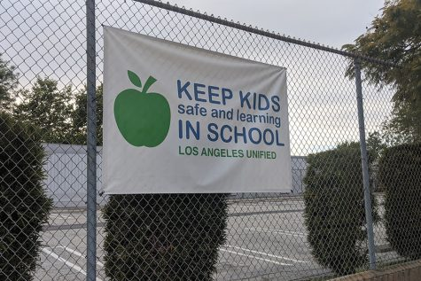 UNCERTAIN: A sign at Canfield Elementary School in Beverlywood was an ironic reminder on Tuesday, when state School Superintendent Tony Thurmond announced all state public schools would remain closed through the end of the 2019-20 year.