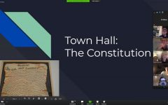LIVE: A Zoom meeting this evening is considering a new constitution, proposed by seniors David Edwards, Sabrina Jahan and Evan Rubel.
