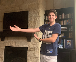 STRUGGLES: Ezra Rosenthal's multiple injuries stopped him from playing sports for two years.