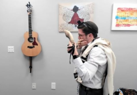 Even via Zoom, the shofar signals the season in Elul