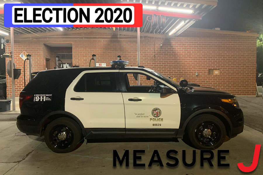 DEFUND? Measure J on the Los Angeles County ballot would reduce the percentage of county dollars available for sheriff's and jail funding.