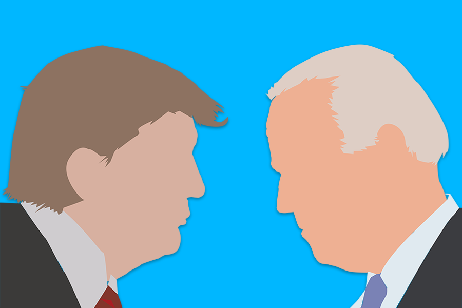 FACEOFF: Four days before the election, President Trump and former Vice President Biden competed in an online poll for the Boiling Point. The results differed by grade.