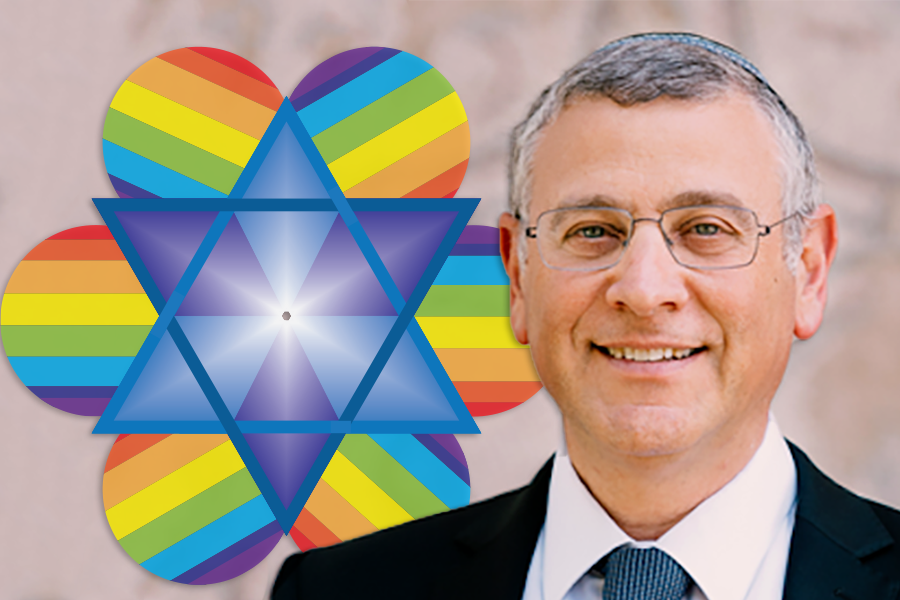 LIGHT: Rabbi Benny Lau says the instructions and meaning of Torah can guide all kinds of people, whatever their sexuality or gender identity.