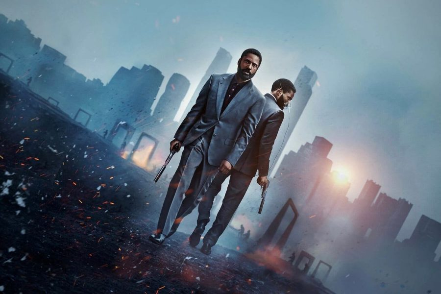 PROTAGONIST: Played by John David Washington, Tenet's main character travels backwards and forwards through time trying to save the universe in Christopher Nolans latest film.