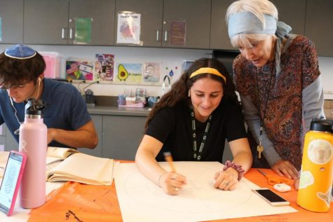 Roen Salem, head of art department and longest serving faculty member, retires for health reasons