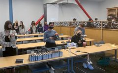 SPACE: Hashkama Minyan Sept. 14 was less crowded than in previous years, when more than 100 people would attend. This year's early-morning prayer service is open only to students in Advanced Gemara Shiur or Beit Midrash Track.