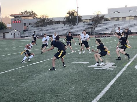 Firehawk boys, girls flag football teams trounce YULA in first games since 2019
